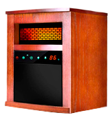 Air Choice Portable Infrared Heater with Remote and Timer
