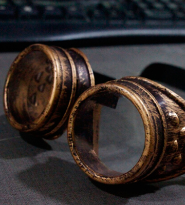 Review of T&B Cosplay Vintage Steampunk Goggles Glasses