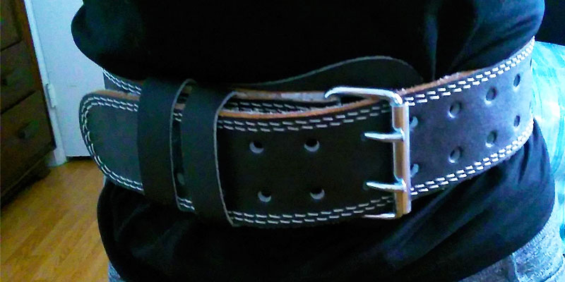 Review of Valeo Leather Weight Lifting Belt