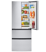Haier HRF15N3AGS 15 Cu. Ft. French-Door Refrigerator