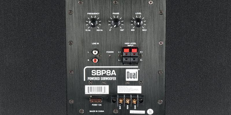 Dual SBP8A Amplified Bandpass Subwoofer in the use