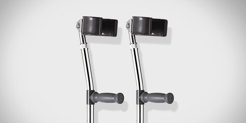 Review of Medline Aluminum Forearm Crutches