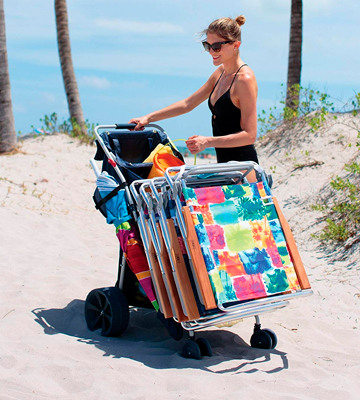 Review of Rio Beach WWC6-WIDE Deluxe Beach Cart
