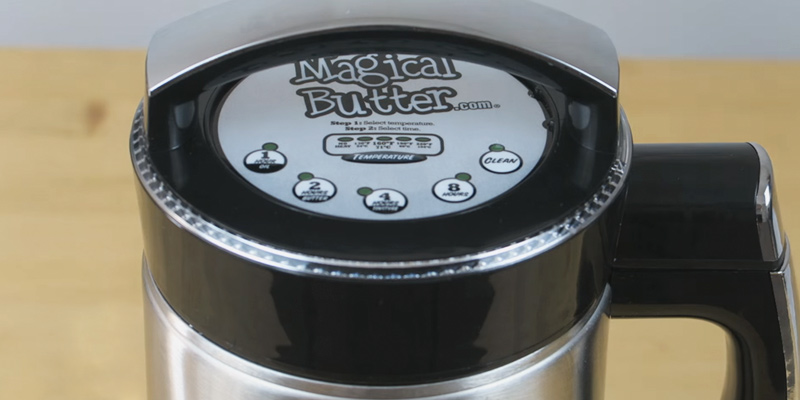 Magical Butter MB2E Botanical Extractor Machine in the use