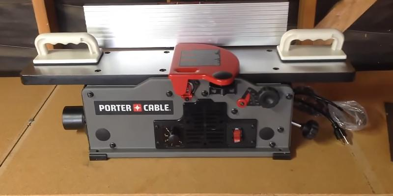 Review of PORTER-CABLE PC160JT Variable Speed Bench Jointer