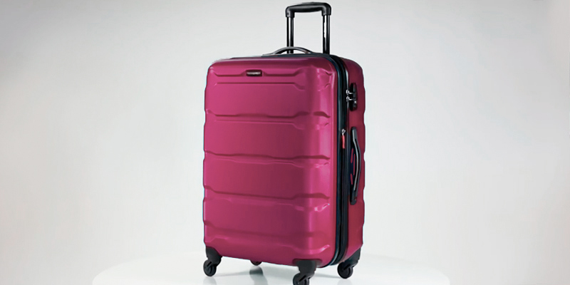 Review of Samsonite Omni PC 2 Piece Set Pink of 20 and 28 Spinner Suitcase