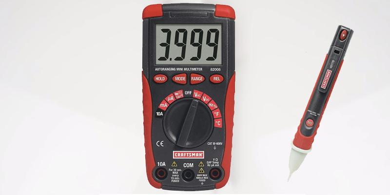 Review of Craftsman 34-82007 With AC Voltage Detector & Flashlight