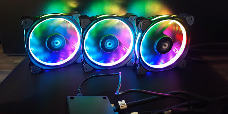 Review of Thermaltake Pure Plus (CL-F063-PL12SW-A) 120mm RGB Case Fan (3-Pack)
