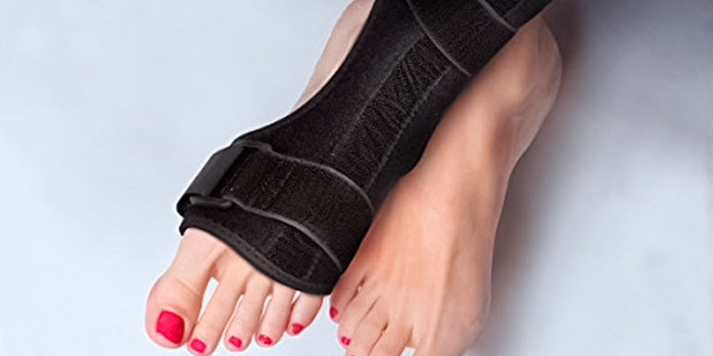 Review of Sportuli Plantar Fasciitis Night Splint Drop Foot Orthotic Brace