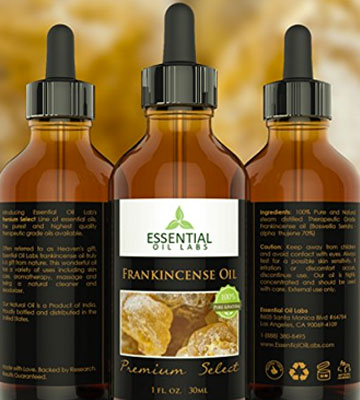 Review of Essential Oil Labs Therapeutic Grade Frankincense Oil