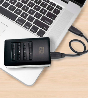 Review of Fantom Drives DSH1000 Encrypted External Hard Drive