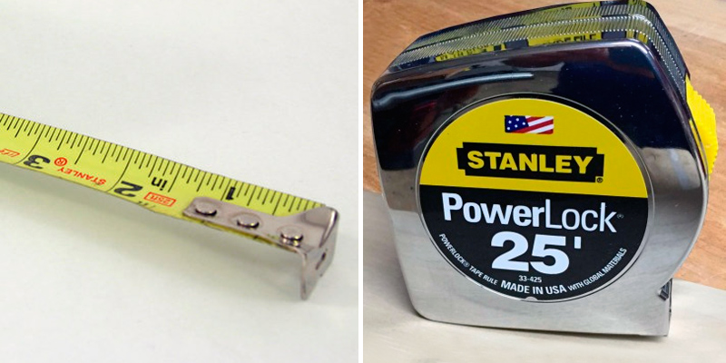 Review of Stanley 33-425 Measuring Tape 25 ft