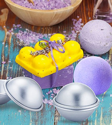 Review of Caydo Multifonction Metal Bath Bomb Mold