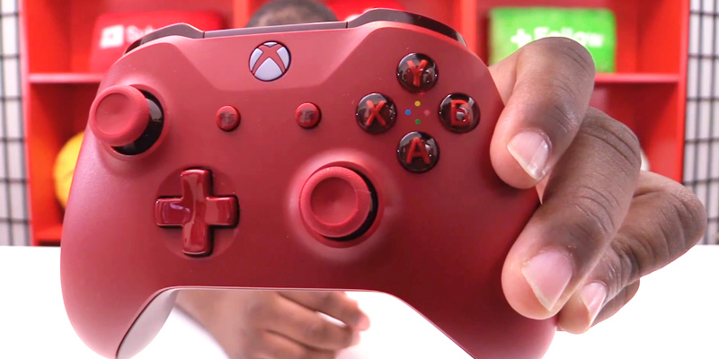 Review of Microsoft Red Wireless Controller