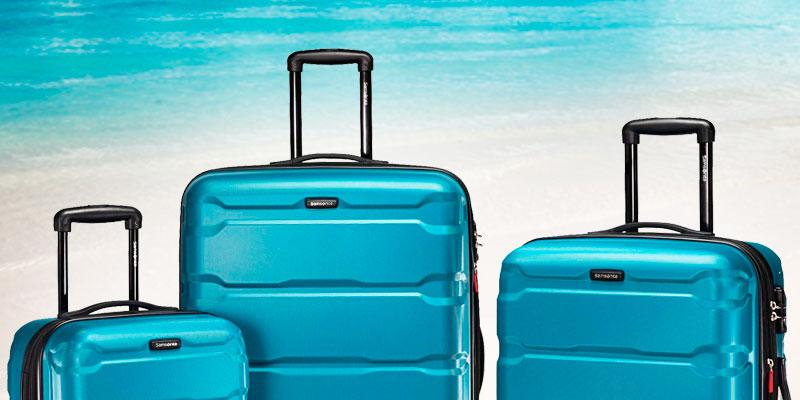 Detailed review of Samsonite PC 3 Piece Set Omni Spinner Suitcase