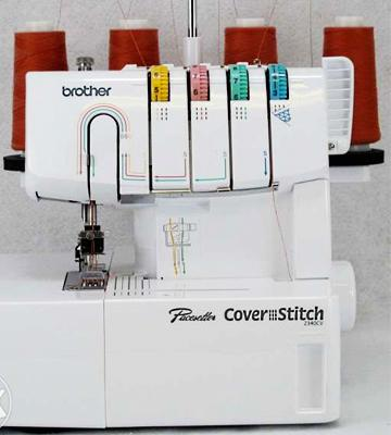 Review of Brother 2340CV Cover Stitch Overlock Machine