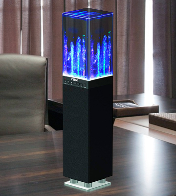 Review of Naxa NHS-2009 Dancing Water Light Tower Speaker System Bluetooth