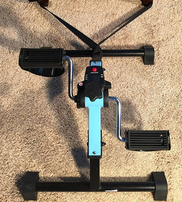 Review of Platinum Fitness PFP2100 Folding Pedal Exerciser