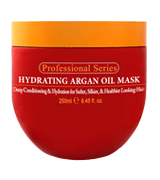 Arvazallia 8.45 Oz Hydrating Argan Oil Hair Mask and Deep Conditioner for Dry or Damaged Hair