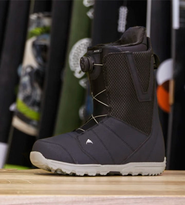 Review of Burton Moto BOA Snowboard Boots Mens