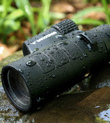Review of Wingspan Optics Tracker 8X42 Compact Wide View Monocular with Advanced Optics
