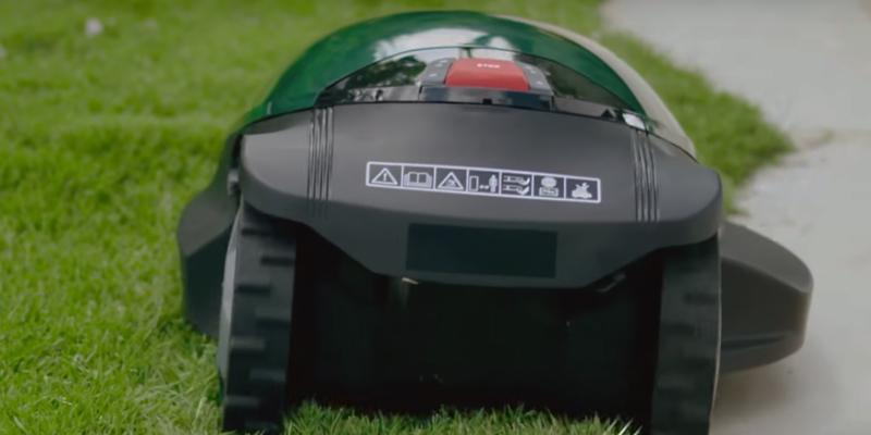 Robomow RC306 Robotic Lawn mower in the use