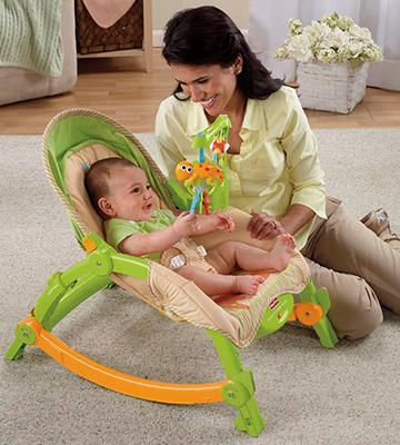 Review of Fisher-Price T2518 Newborn-to-Toddler Portable Rocker