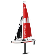 POCO DIVO Compass RG65 Class Competition Sailboat RC