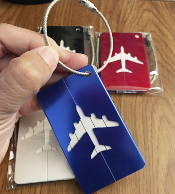 Review of Aootech LUG-551 Luggage Tags for Baggage Suitcases Bags