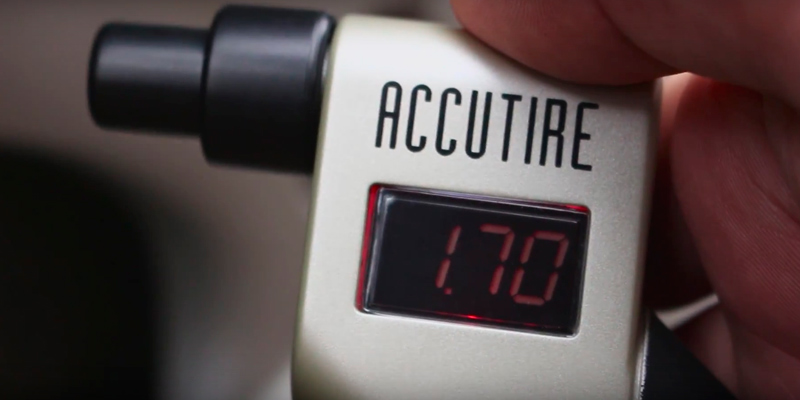 Accutire MS-4021B Digital Tire Pressure Gauge application
