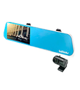 KDLINKS R100 Mirror Dash Cam (Front 1296p & Rear 1080p)