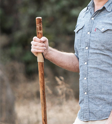 Review of SE Wooden Walking Hiking Stick
