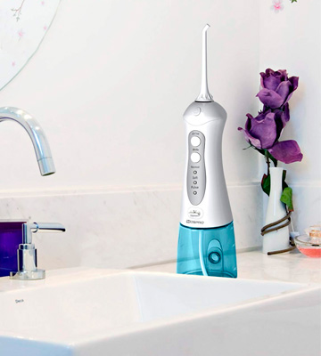 Review of MOSPRO _Portable Oral Irrigator Water Flosser Professional Cordless