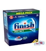 Finish All in 1 Powerball Mega Pack, 90 Tablets