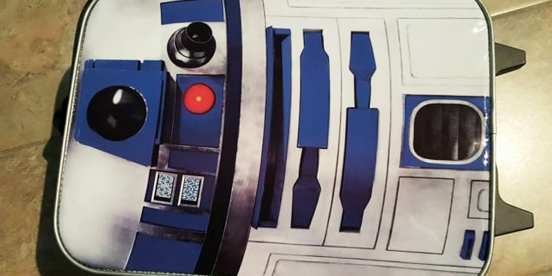 Review of Star Wars Luggage Star Wars R2-D2 Pilot Case