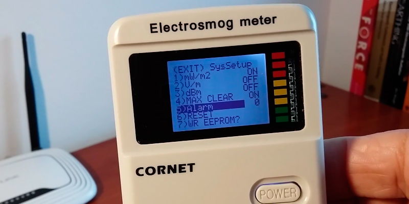 Detailed review of Cornet ED78S EMF RF Meter