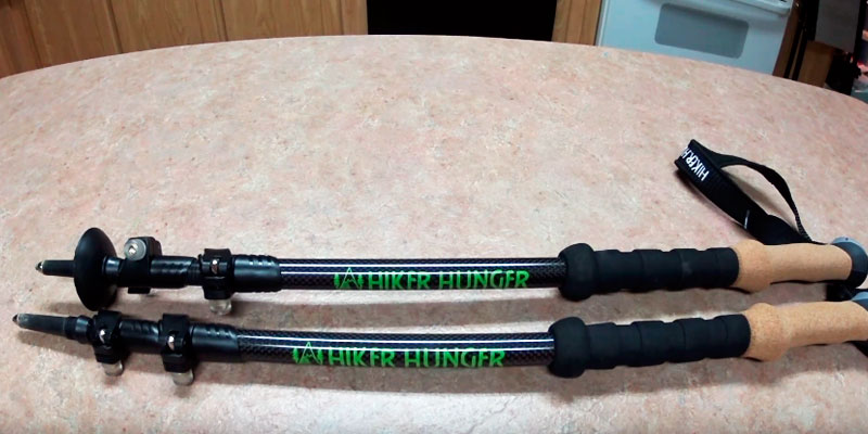 Review of Hiker Hunger Carbon Fiber Trekking Poles