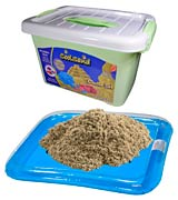 CoolSand Kinetic Sand With Inflatable Sandbox