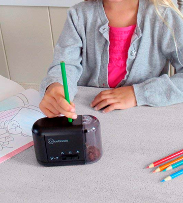 Review of OfficeGoods V-7 Electric & Battery Operated Pencil Sharpener