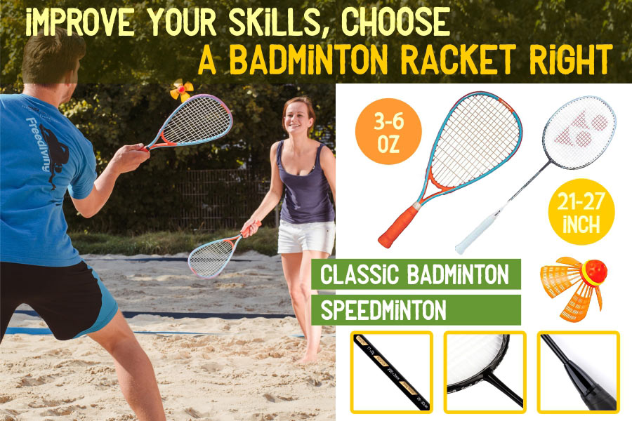 Comparison of Badminton Rackets