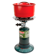 Coleman Portable Bottletop Propane Camp Stove with Adjustable Burner