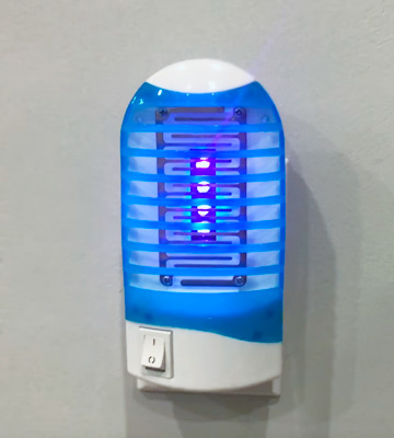 Review of Shootingstar Electronic Bug Zapper Mosquito Trap and Killer Insect Killer Lamp, Mosquito Zapper Indoor
