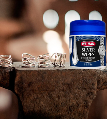 Review of Weiman Silver Wipes for Cleaning and Polishing Silver Jewelry