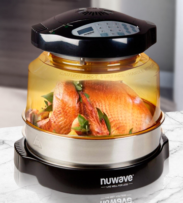 Review of NuWave 20633 Pro Plus Infrared Oven with Stainless Steel Extender Ring
