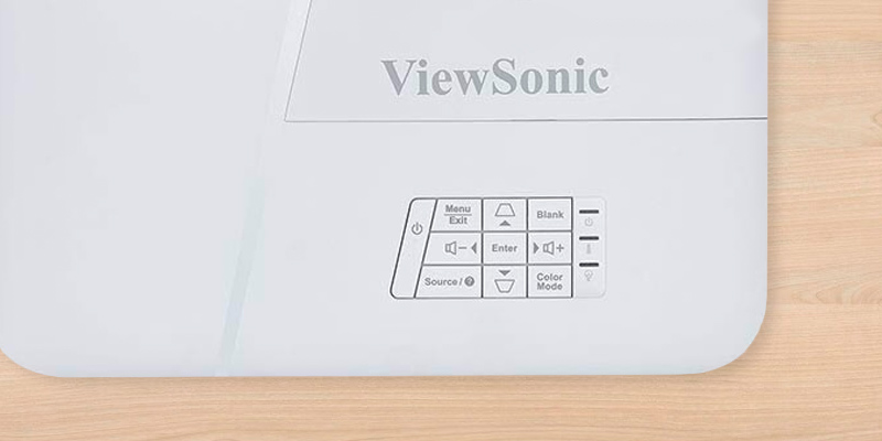 ViewSonic PA503W WXGA DLP Projector in the use