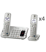Panasonic KX-TGE274S Link2Cell Bluetooth Cordless Phone