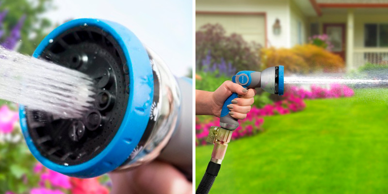 Review of INNAV8 10 Pattern Garden Hose Nozzle Heavy Duty