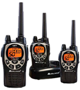 Midland GXT1000X3VP4 Waterproof Two-Way Radio