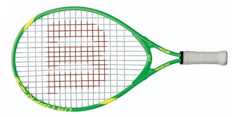 Wilson US Open Junior Tennis Racquet in the use