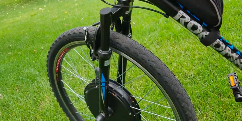 "Detailed review of AW Kit PAS System 26""x1.75"" Front Wheel 48V 1000W 470RPM"